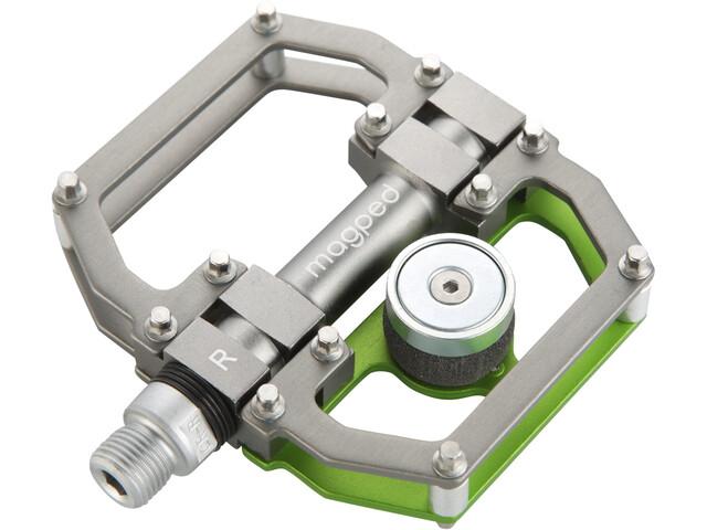 magped Sport Magnetpedale grau/grün